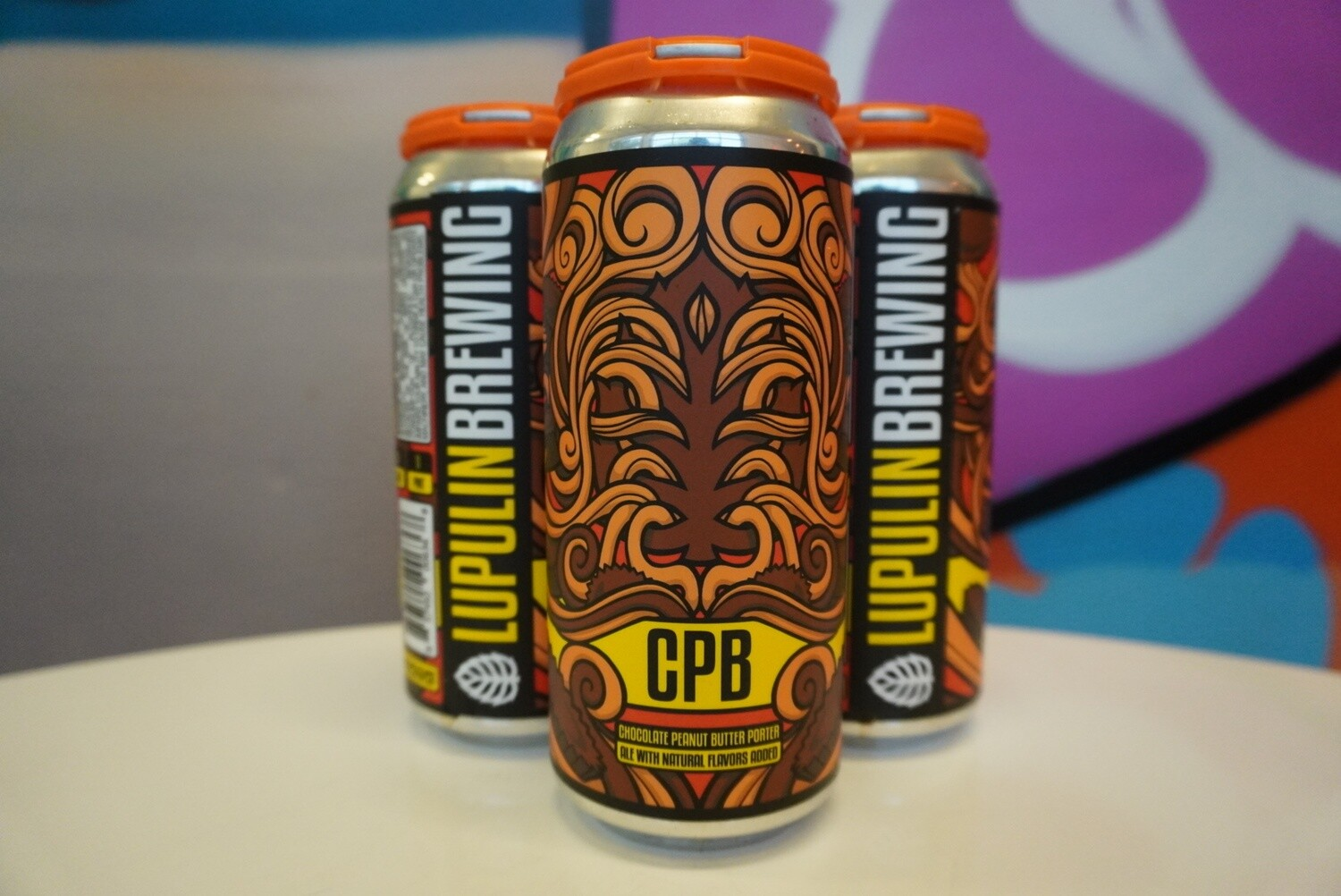 Lupulin Brewing - CPB - Porter - 5.25% ABV - 4 Pack