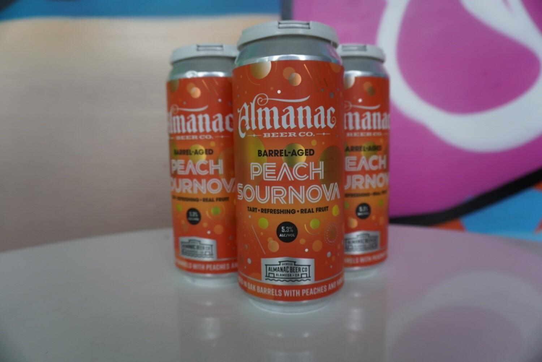 Almanac - Peach Sournova - Sour - 5.8% ABV - 4 Pack