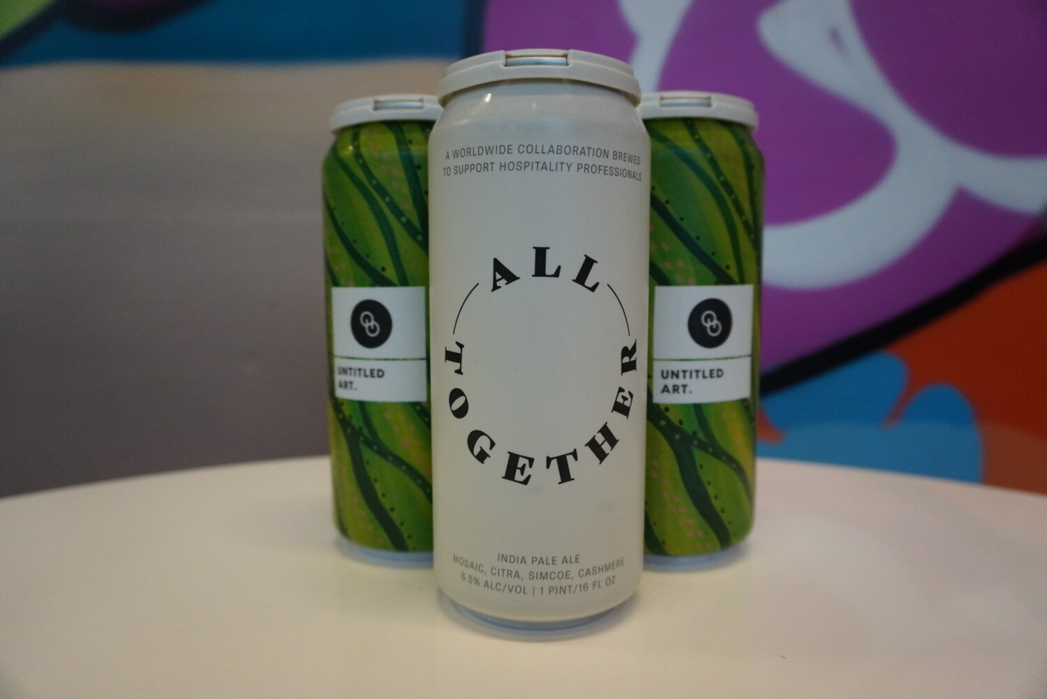 Untitled Art - All Together Now - New England IPA - 6.5% ABV - 4 Pack
