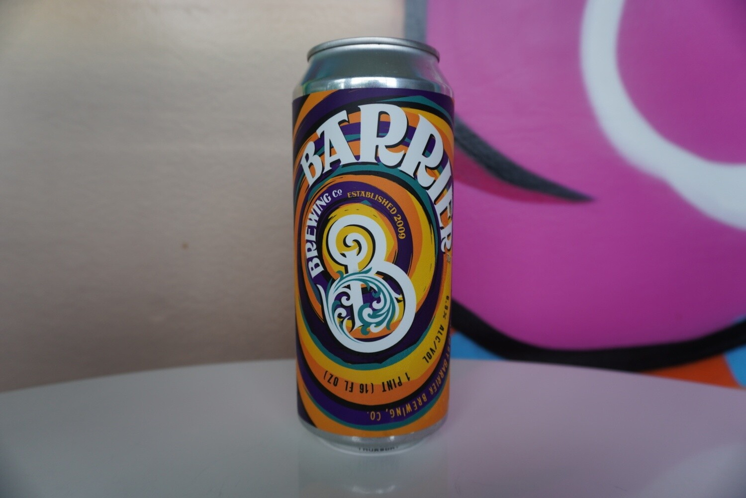 Barrier Brewing - What Day is it? Thursday - New England IPA - 6.9% ABV - 16oz Can