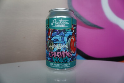 Pontoon - Crushing Waves - Sour - 5.1% ABV - 12oz Can