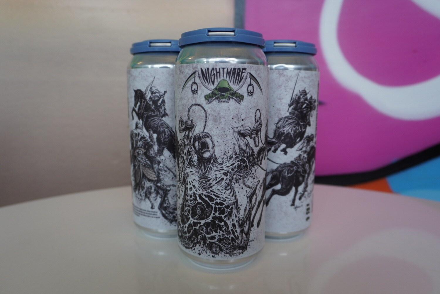 Nightmare Brewing - Drawn & Quartered - Double IPA - 10% ABV - 4 Pack