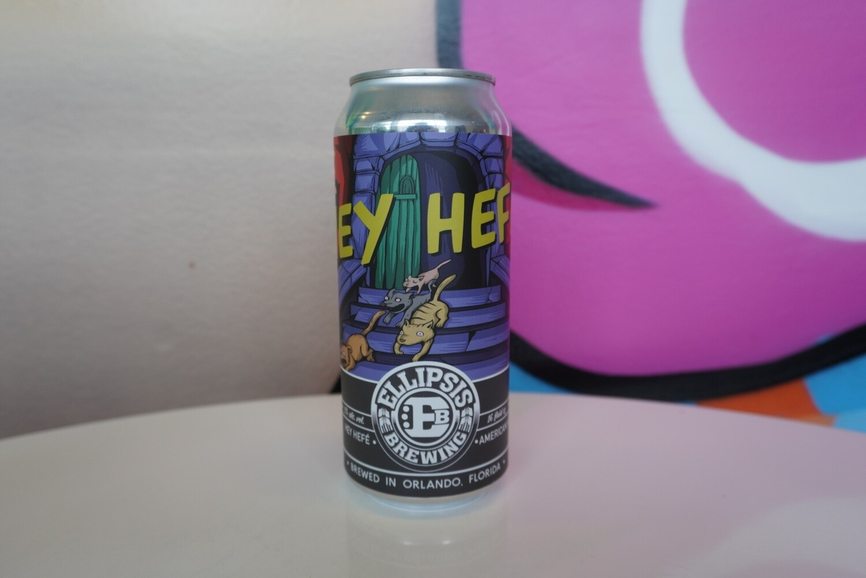 Ellipsis Brewing - Hey Hefe! - Hefeweizen - 4.9% - 16oz Can