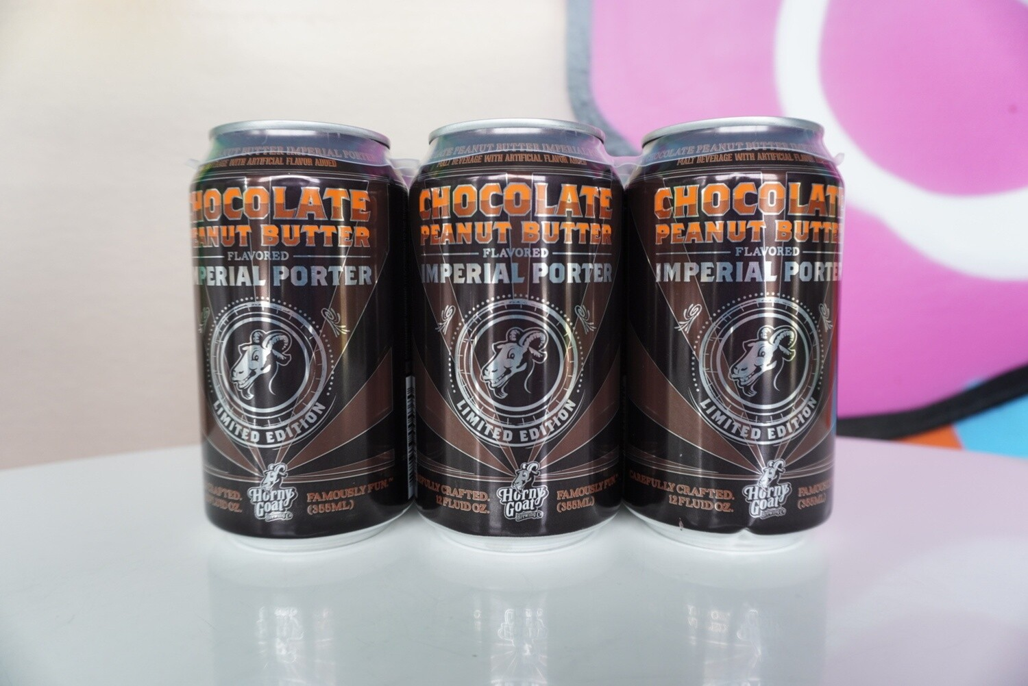 Horny Goat - Chocolate Peanut Butter Porter - 6.5% ABV - 6 Pack