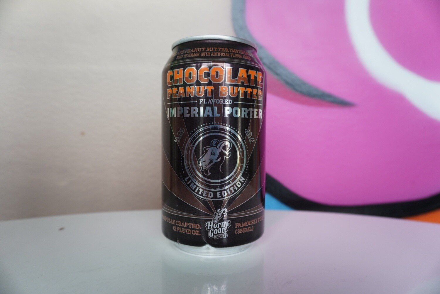 Horny Goat - Chocolate Peanut Butter Porter - 12oz Can