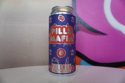 Thin Man - Pills Mafia - Pilsner - 4.9% ABV - 16oz Can