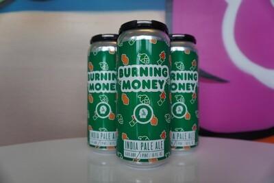 Thin Man - Burning Money - IPA - 6.6% ABV - 4 Pack