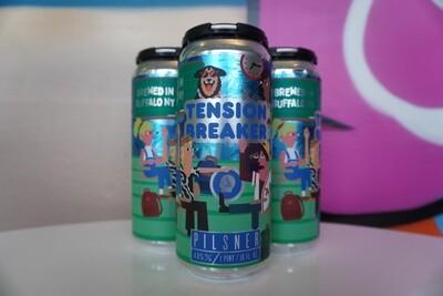 Thin Man - Tension Breaker - Pilsner - 4.8% ABV - 4 Pack