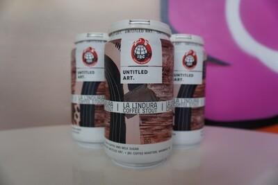 Untitled Art - La Lindura Coffee Stout - Stout - 12% ABV - 4 Pack