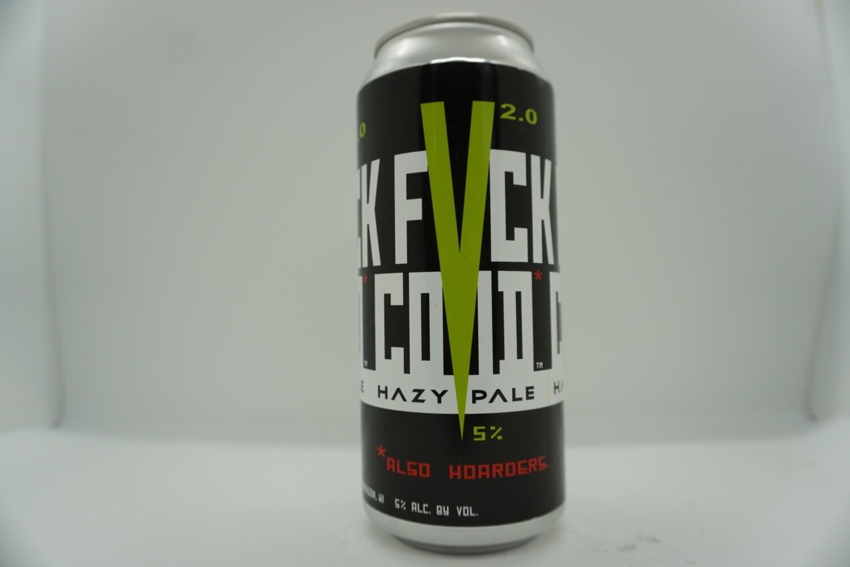 Ale Asylum - F*CK COVID - Hazy Pale Ale - 5% ABV - 16oz Can