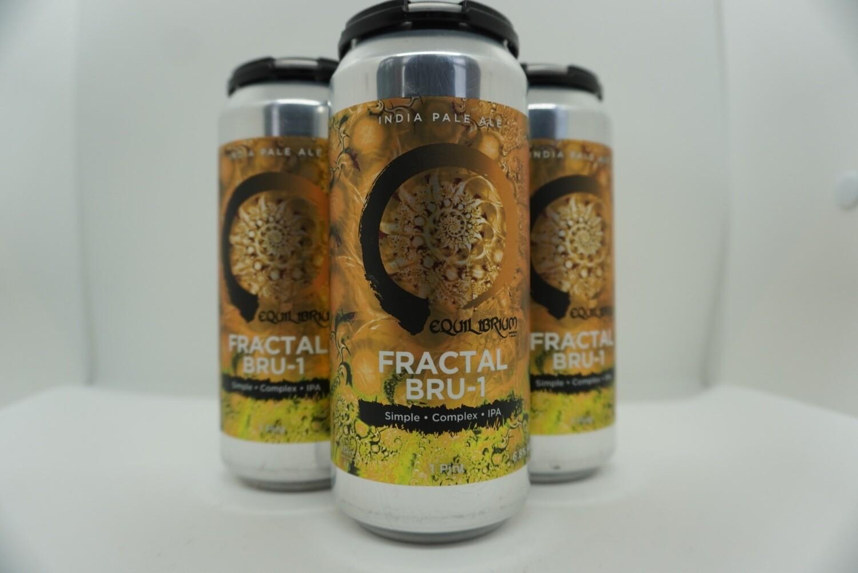 Equilibrium - Fractal Bru-1 - IPA - 6.8% ABV - 4 Pack