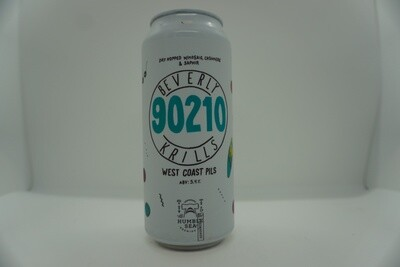 Humble Sea - Beverly Krills - West Coast Pilsner - 5.4% ABV - 16oz Can
