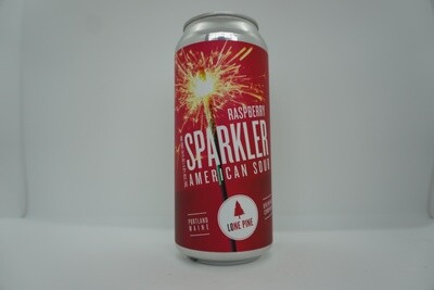 Lone Pine - Raspberry Sparkler - Sour - 4.8% ABV - 16oz Can