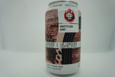 Untitled Art - La Lindura Coffee Stout - Stout - 12% ABV - 12oz Can
