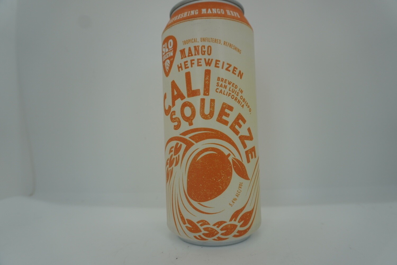 Slo Brewing - Cali Squeeze Mango Hefe - Hefeweizen - 5.4% ABV - 16oz Can
