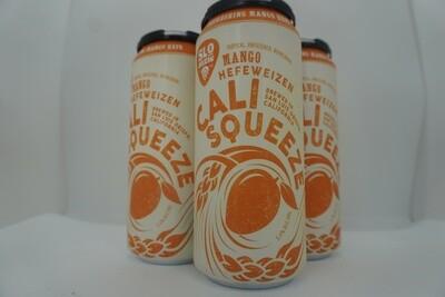 Slo Brewing - Cali Squeeze Mango Hefe - Hefeweizen - 5.4% ABV - 4 Pack