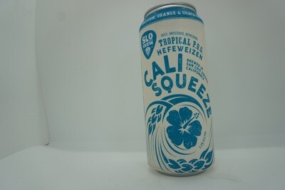 Slo Brewing - Cali Squeeze Tropical Hefe - Hefeweizen - 5.4% ABV - 16oz Can