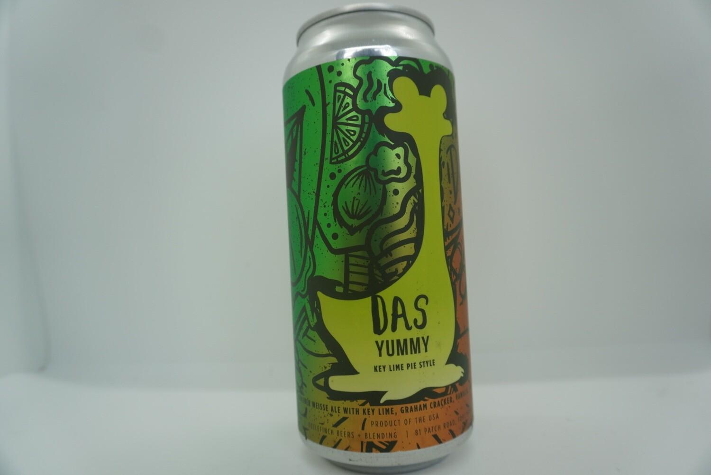 Oozlefinch - Das Yummy Key Lime - Sour - 6.5% ABV - 16oz Can
