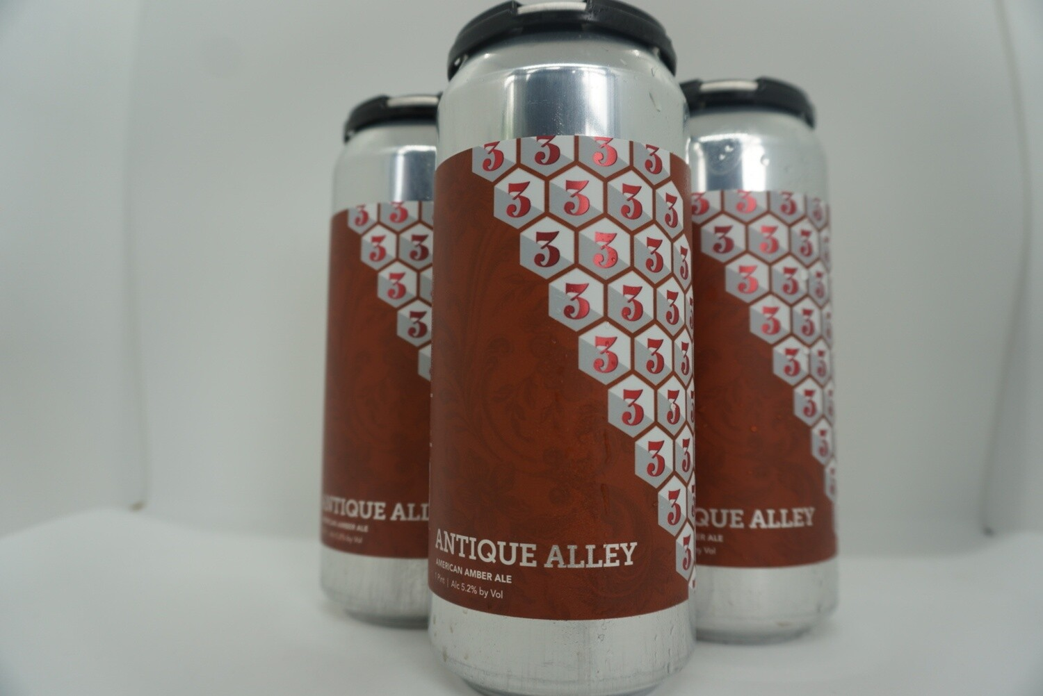 3 Sons - Antique Alley - Amber - 5.4% ABV - 4 Pack