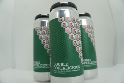 3 Sons - Double Dopealicious - DIPA - 9.1% ABV - 4 Pack