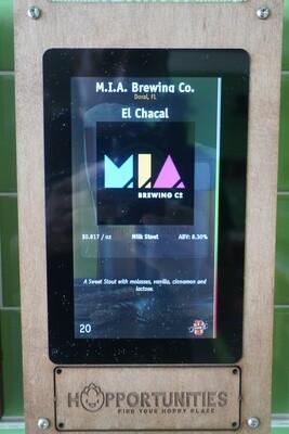 MIA - El Chacal - Milk Stout - 8.3% ABV - Click 4 Options