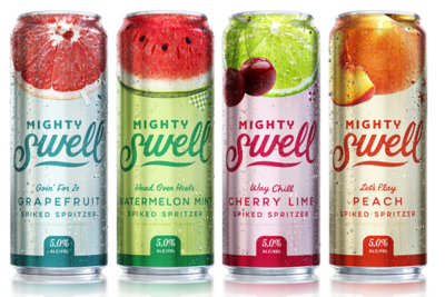 Mighty Swell Hard Seltzer - Click 4 Options