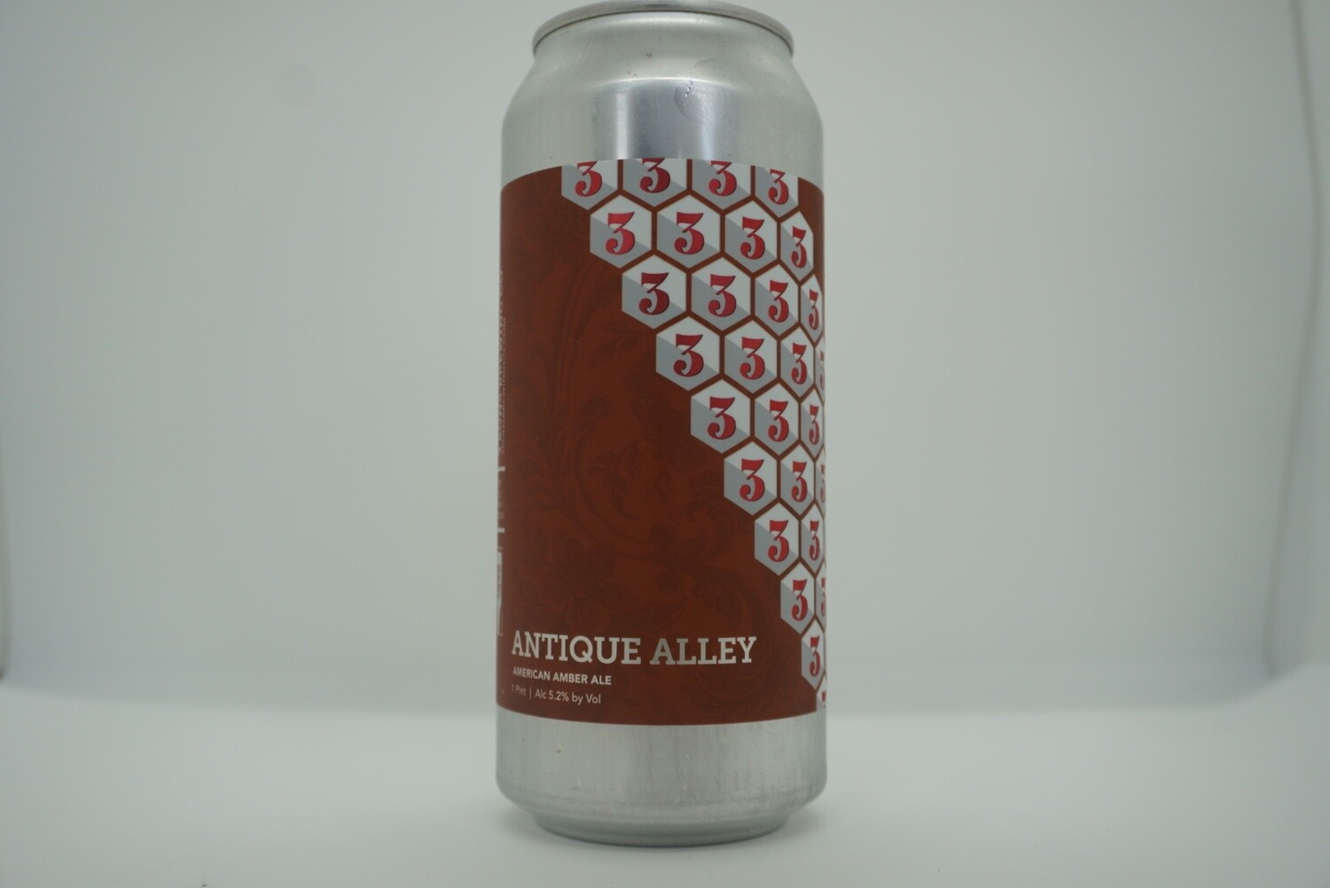 3 Sons - Antique Alley - Amber - 5.4% ABV - 16oz Can