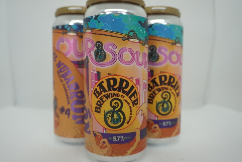 Barrier Brewing - Our Sour #4, El Nubarron - Sour - 5.7% ABV - 4 Pack