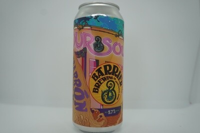 Barrier Brewing - Our Sour #4, El Nubarron - Sour - 5.7% ABV - 16oz Can