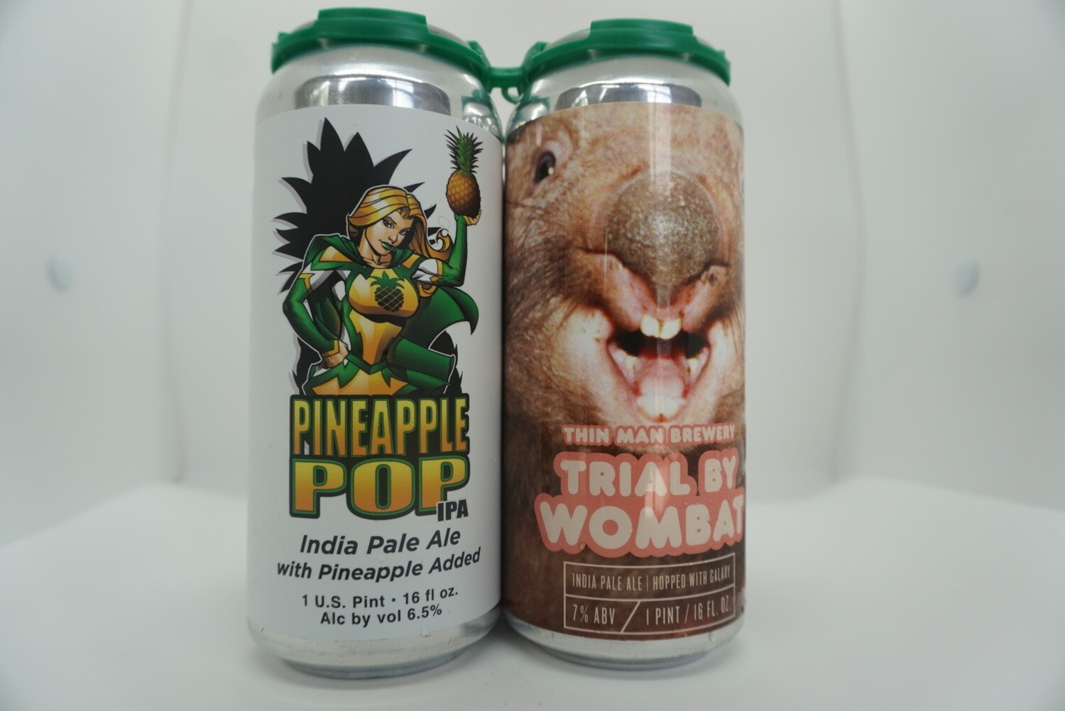 IPA Mixed 4 Pack C - J Wakefield, Toppling Goliath, Short Throw, Thin Man