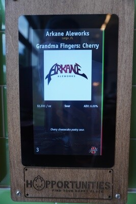 Arkane Aleworks - Grandma's Fingers Cherry Cheescake - Sour - 6% ABV - Click 4 Options