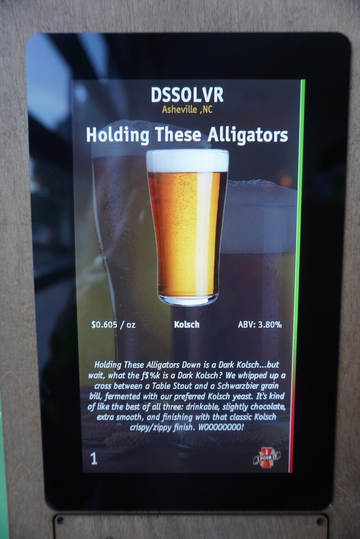 DSSOLVR - Holding Down Alligators - Kolsch - 3.8% ABV - 32oz Crowler (can)\