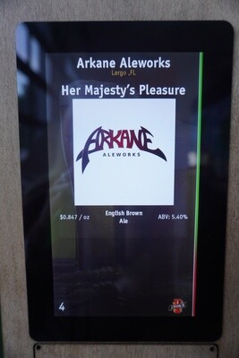 Arkane Aleworks - Her Majesty's Pleasure - Brown - 5.6% ABV - Click 4 Options