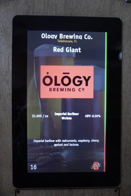 Ology - Red Giant  - 8% ABV - Imperial Sour - Click 4 Options (cloned)