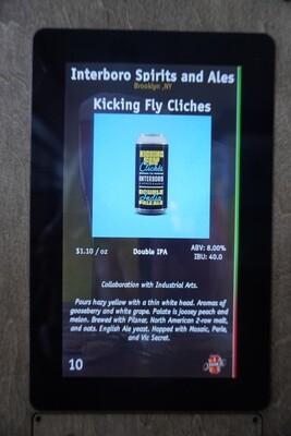 Interboro - Kickin Fly Cliches - DIPA - 8% ABV - Click 4 Options