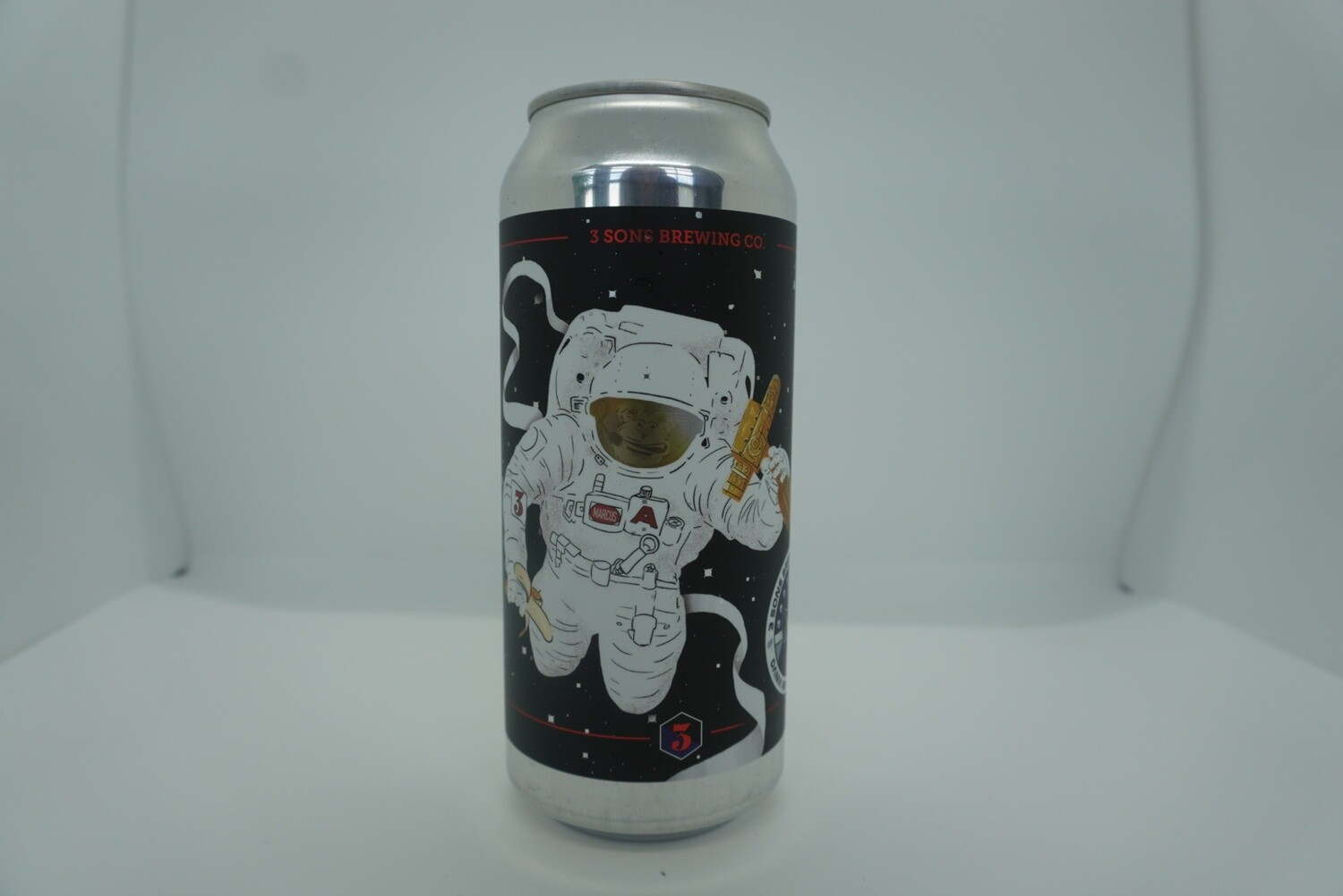3 Sons - Intergalactic Chimpstronaut - DIPA - 8.1% ABV - 16oz Can