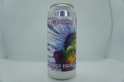 Equilibrium - Energy Equals - DIPA - 8% ABV - 16oz Can