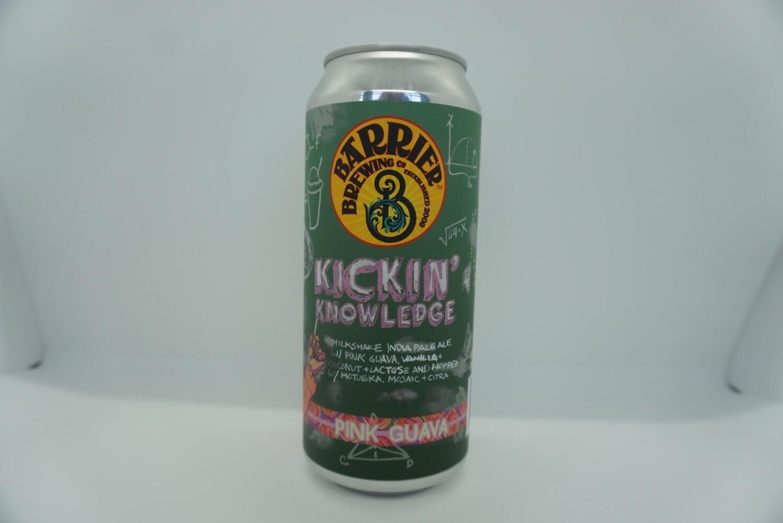 Barrier - Kickin' Knowledge - IPA - 7% ABV - 16oz Can
