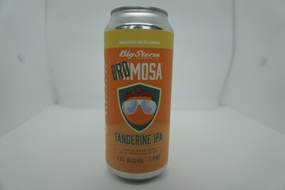 Big Storm - Bromosa Tangerine IPA - IPA - 7.1% ABV - 16oz Can