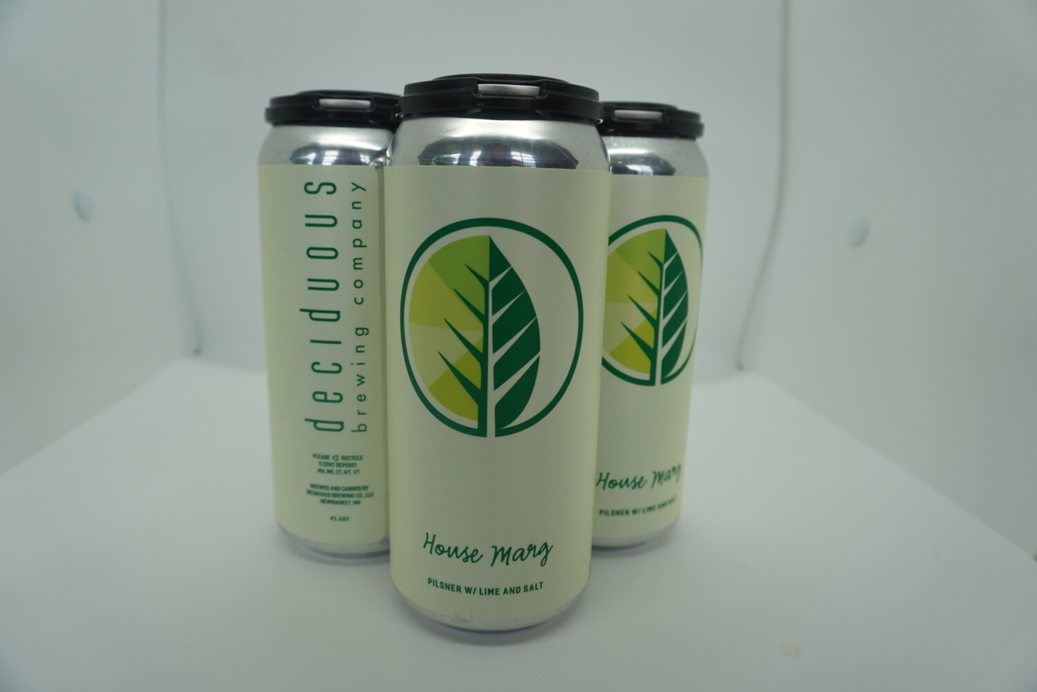 Deciduous - House Marg - Pilsner - 5% ABV - 4 Pack