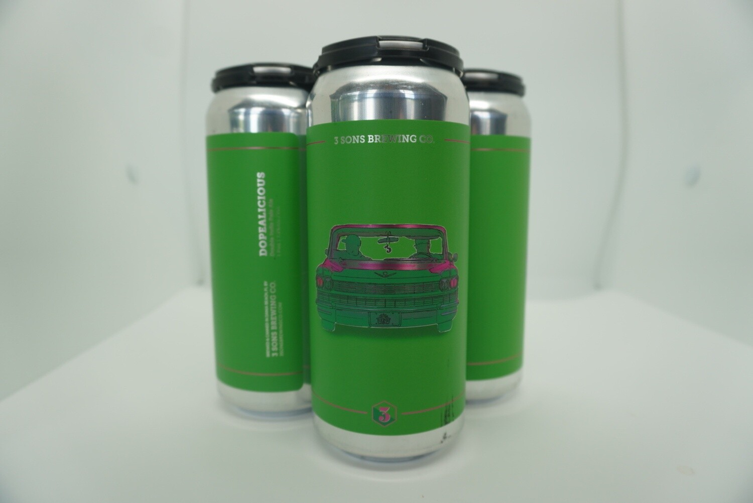 3 Sons - Dopealicious - IPA - 7.5% ABV - 4 Pack