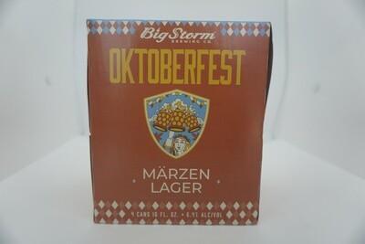 Big Storm - Oktoberfest - Marzen - 6.4% ABV - 4 Pack