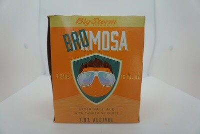 Big Storm - Bromosa Tangerine IPA - IPA - 7.1% ABV - 4 Pack