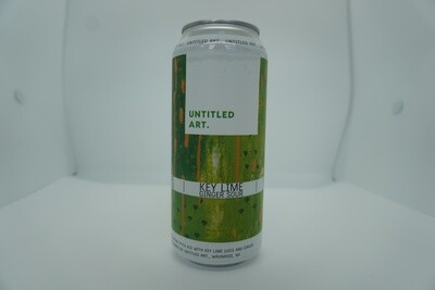 Untitled Art - Key Lime Ginger - Sour - 6.5% ABV - 16oz Can