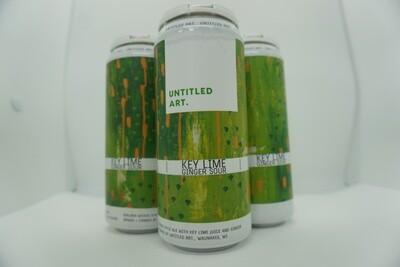 Untitled Art - Key Lime Ginger - Sour - 6.5% ABV - 4 Pack
