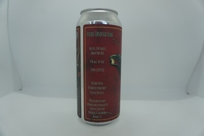 Unseen Creatures - Fused Observation - IPA - 4% ABV - 16oz Can