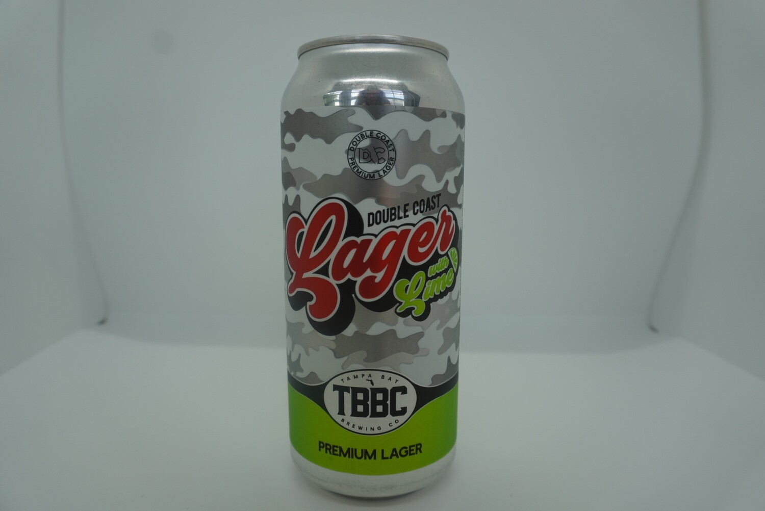 TBBC - Double Coast Lager w/Lime - 4.1% ABV - 16oz Can