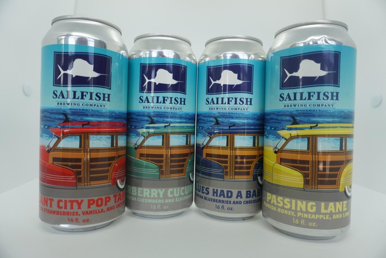 Sailfish - Summer Sour Variety Pack - 4 Pack