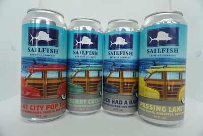 Sailfish - Summer Sour Variety Pack - 6 Pack