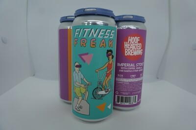 Hoof Hearted - Fitness Freak - Imperial Stout - 14% ABV - 4 Pack